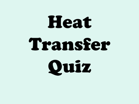 HEAT TRANSFER MCQ WITH ANSWER