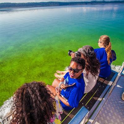 Lake Nhlange, kosi bay boat cruise