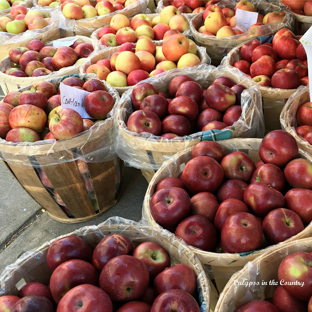 Baskets of Apples for Fall