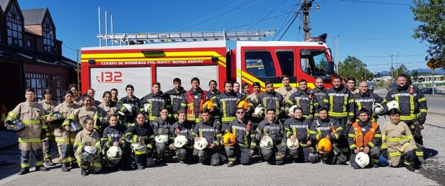 Novena compañía de bomberos de Alerce
