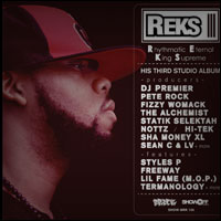Top Albums Of 2011 - 29. REKS - Rhythmatic Eternal King Supreme