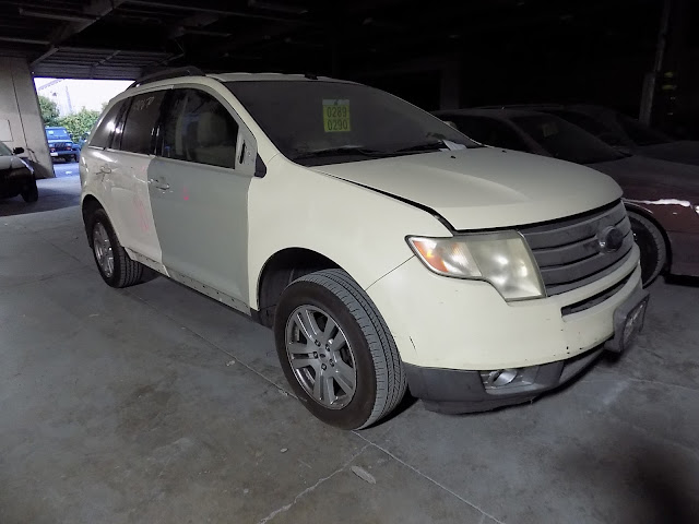 2008 Ford Edge during repairs at Almost Everything Auto Body.