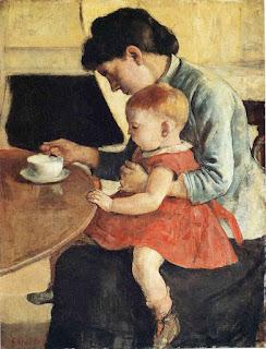 Фердинанд Ходлер. Материнство. 1905