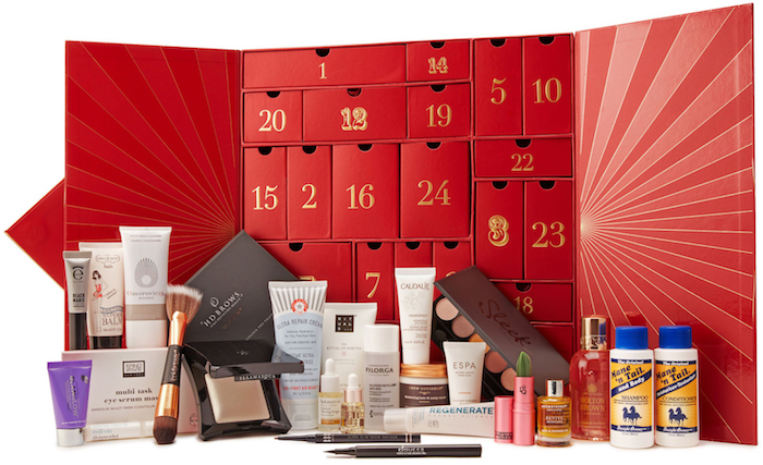 Full spoilers and contents of the LookFantastic Beauty Advent Calendar for 2018, with release date and worldwide delivery.