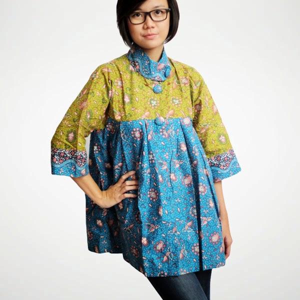 Koleksi Gambar Model Baju Hamil Batik Gamis Muslim Terbaru: Baju Gamis Jahit Terbaru