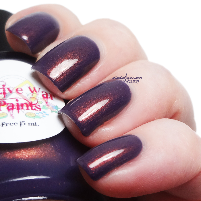 xoxoJen's swatch of Native War Paints Penny for your thoughts