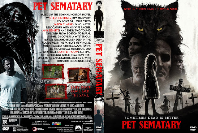 Pet Sematary 2019 DVD DVD Cover