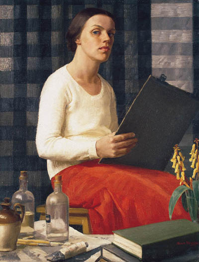 Nora Heysen, Self Portrait, Portraits of Painters