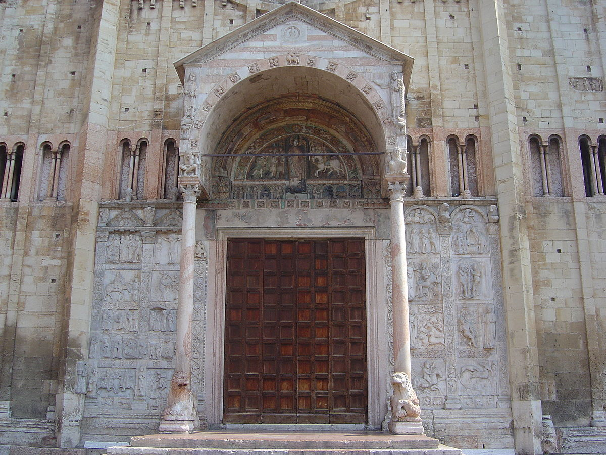 Western Portal of San Zeno in Verona, Italy. Photo: WikiMedia.org.