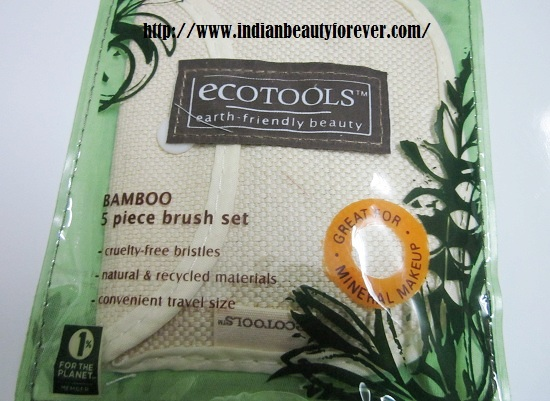 Ecotools Bamboo brushes makeup