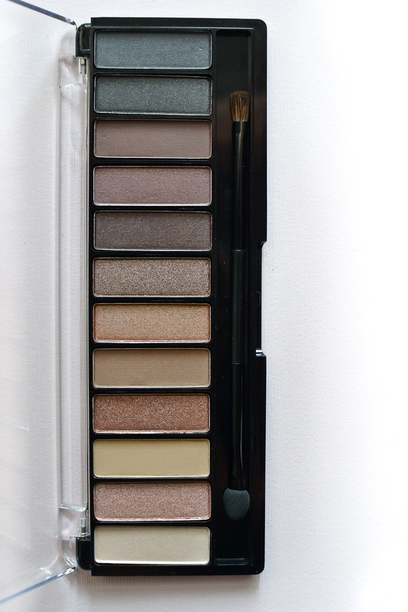 Rimmel Magnif'Eyes Nude Edition Eyeshadow Palette - Review - Swatches
