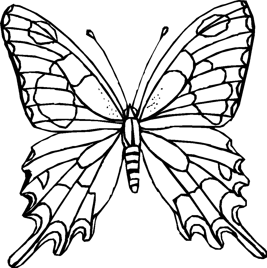 Monarch Butterfly Coloring Pages | Batman Coloring Pages ...