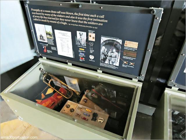 Centro de Información de Georges Island: Exposiciones