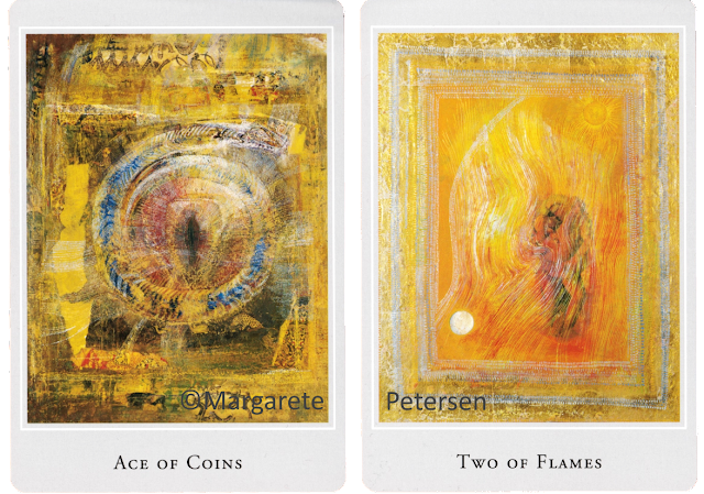 Ace of Coins Two of Flames Margarete Petersen