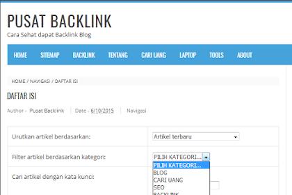 Cara Membuat Sitemap atau Daftar Isi Blog Terbaru