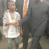 LITTLE BOY BEATS THE CROWD JUST TO SHAKE VP OSINBAJO IN BENIN [PHOTO & VIDEO]