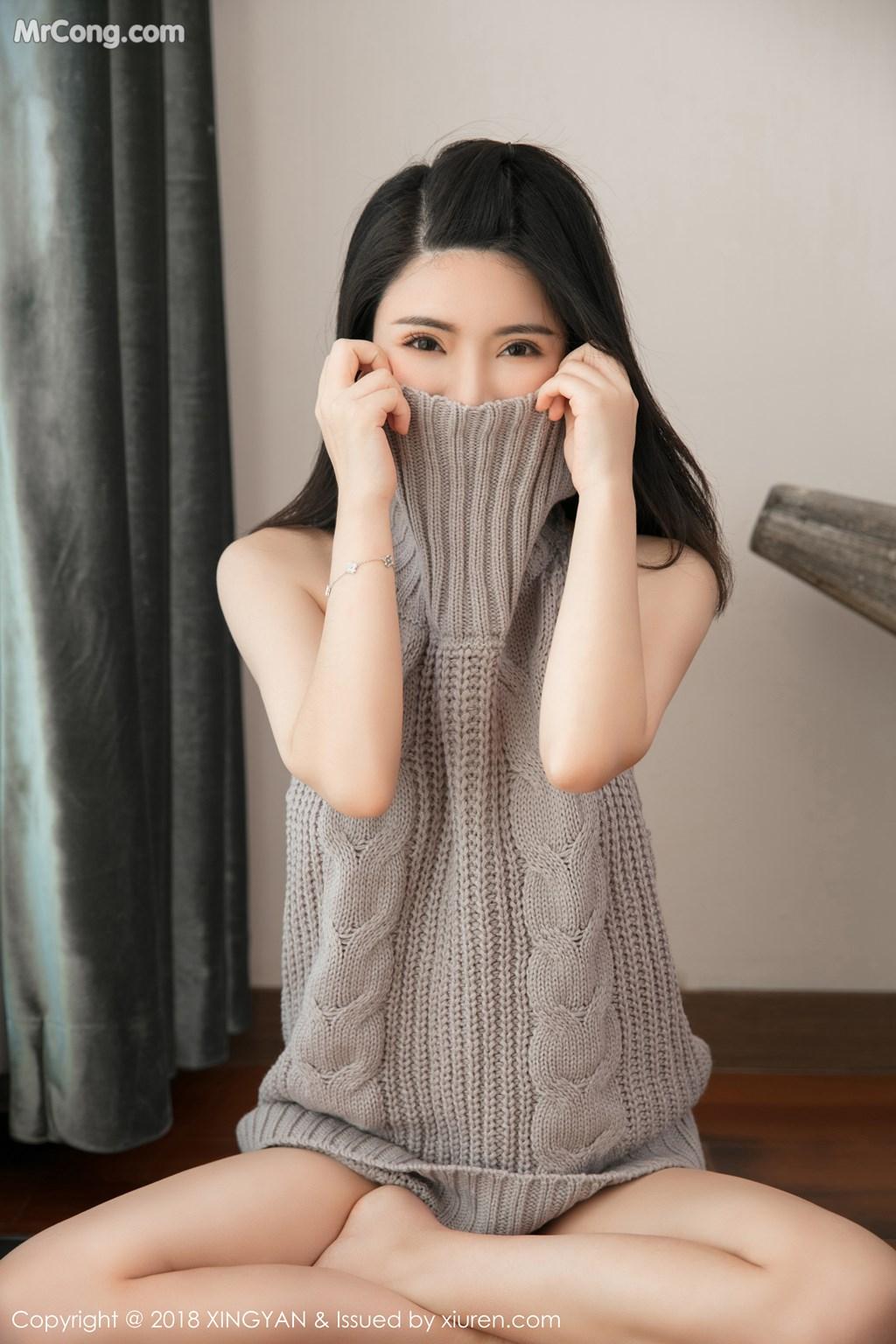 Image XingYan-Vol.012-Lily-MrCong.com-001 in post XingYan Vol.012: Người mẫu 陈曦Lily (51 ảnh)