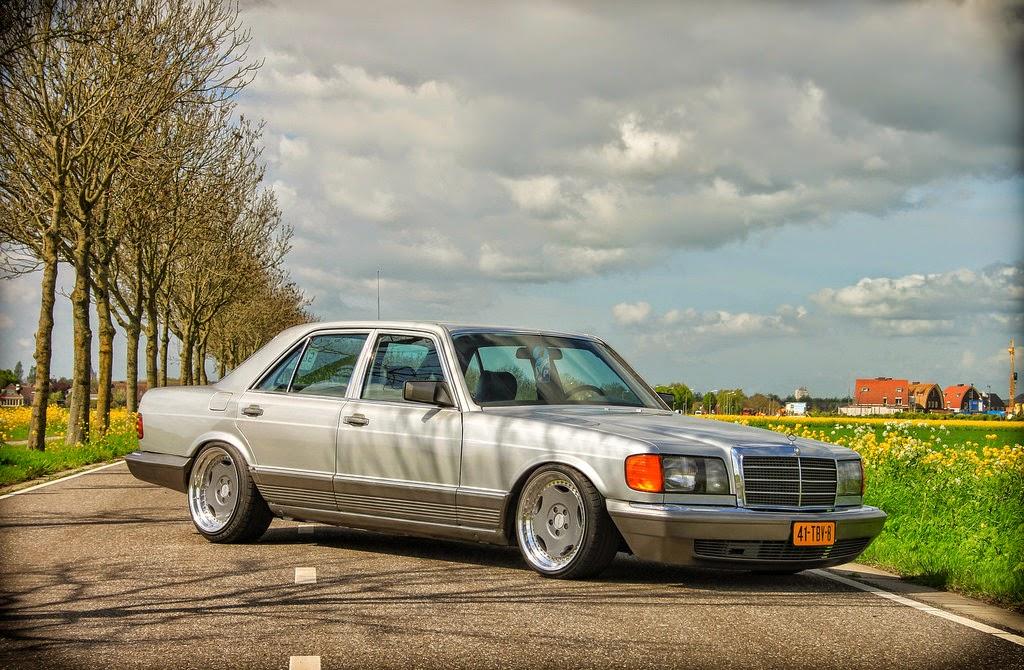 Mercedes 6x6 >> Mercedes-Benz W126 500SEL on Breyton Wheels | BENZTUNING