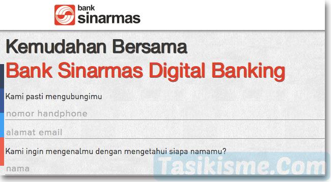 Formulir Pendaftaran Rekening Online Bank Sinarmas