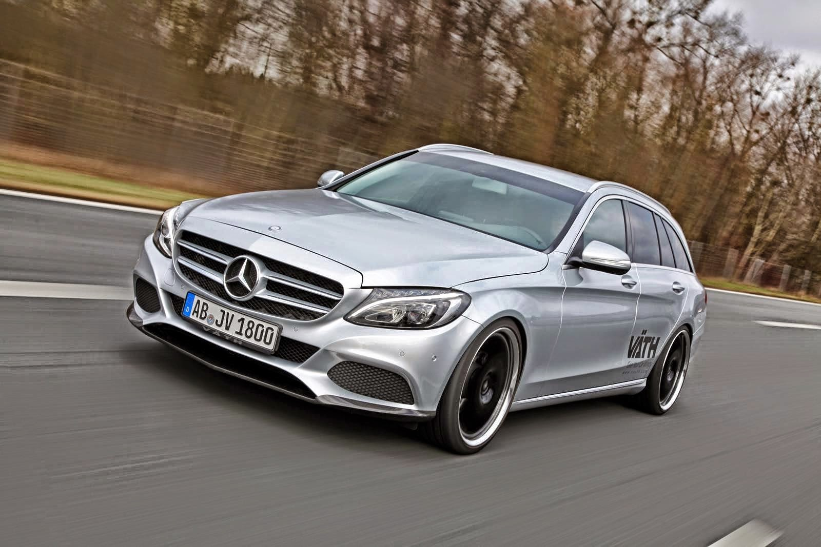 Tuning Cars Wallpapers Hd Mercedes Benz S205 C180 Estate By V 196 Th Benztuning