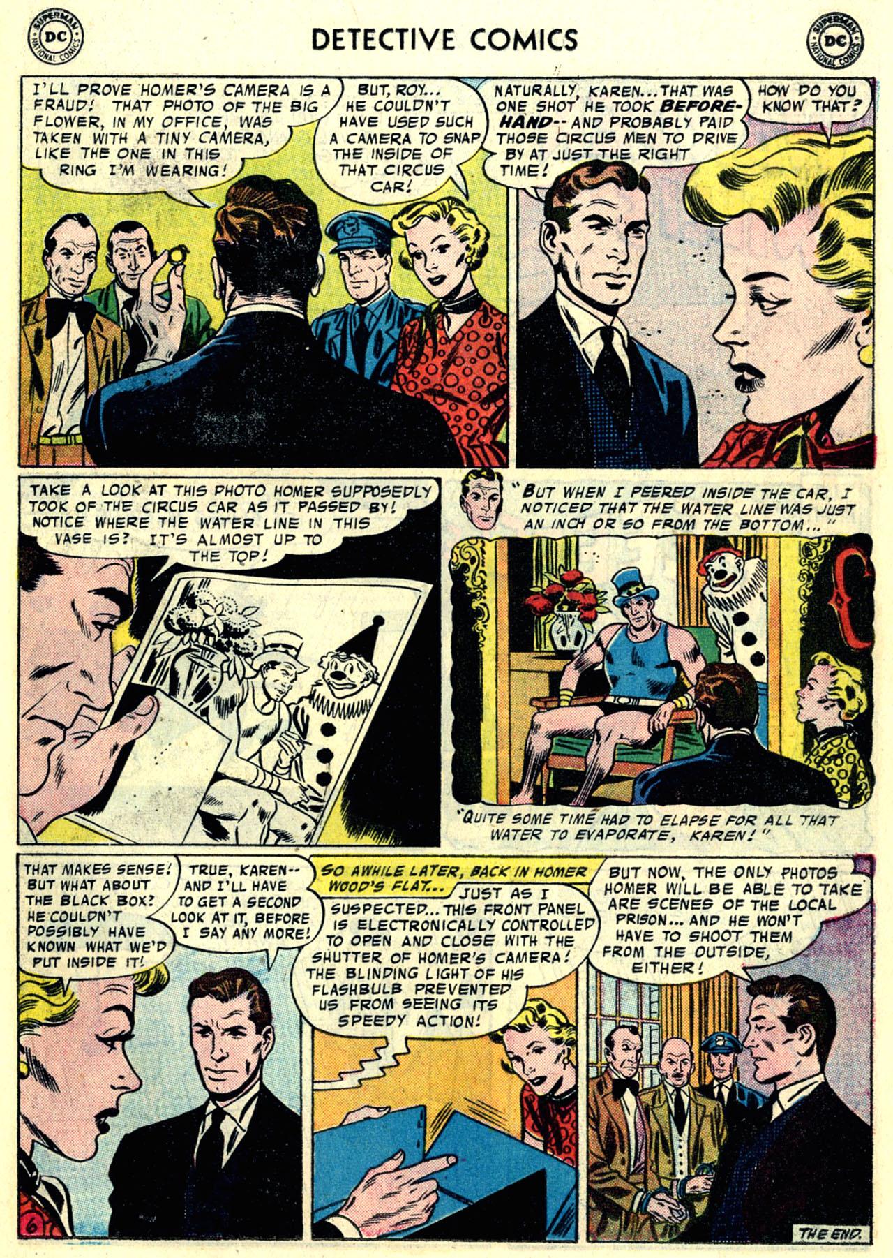 Read online Detective Comics (1937) comic -  Issue #246 - 23