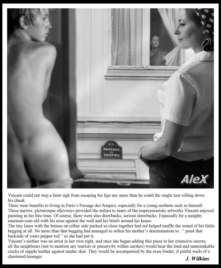 alex embarrassing and fun spanking