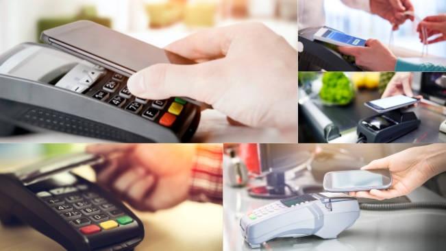 تحميل 5 صور لعمليات التسوق عبر NFC بجودة عالية