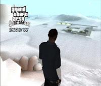 GTA sAN Andreas Mod Snow APk Data full