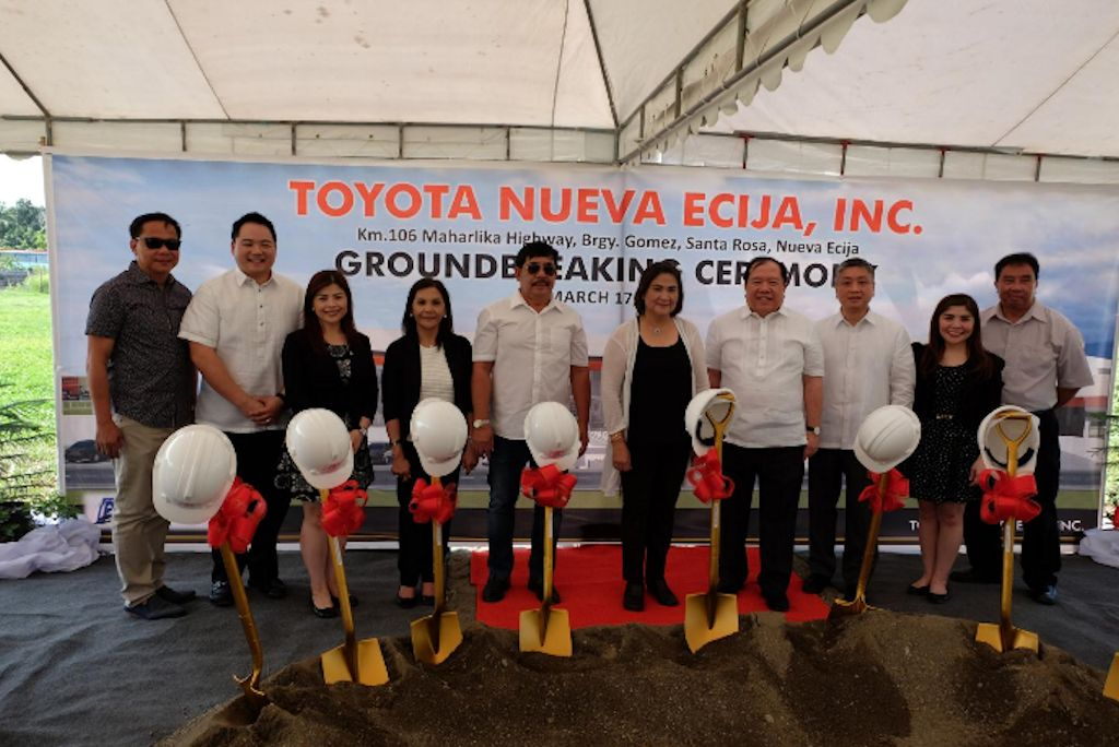 Toyota Poised To Open Largest Showroom In Nueva Ecija Philippine