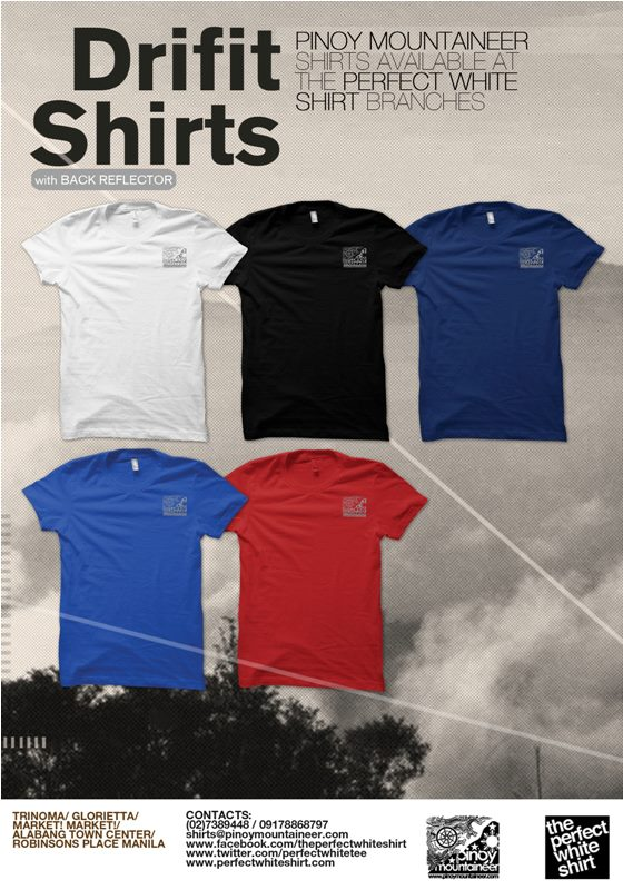 db65d1cf The New PinoyMountaineer Dri Fit Shirt: Short and Long Sleeves with new  colors!