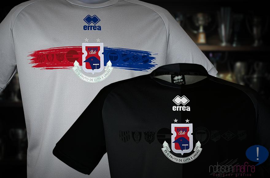 Camisas de Goleiro Paraná Clube Erreà