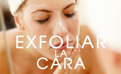 exfoliar regularmente