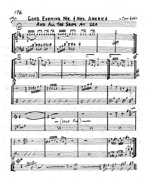 Partitura Trompeta John Guerin