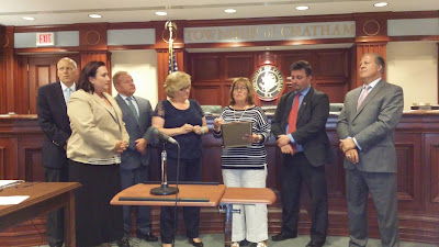 Freeholders Present ADA 25th Anniversary Resolution to Slavinski