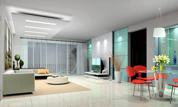Model Plafon Triplek Ruang Tamu Sederhana