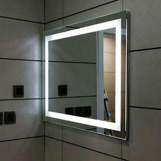 foto de espelho com luz de led fazemos sob medida