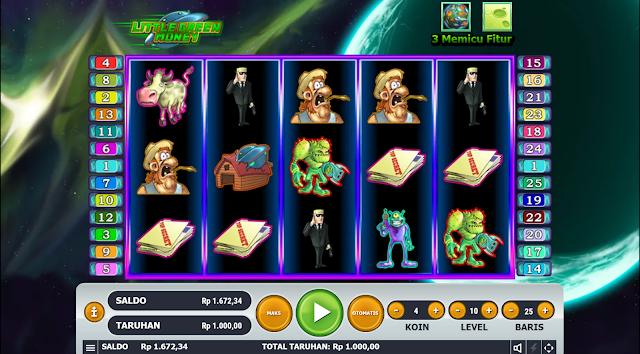 SITUS AGEN SLOT LITTLE GREEN MONEY GAMES HABANERO