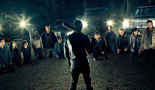 the walking dead: asi se rodo la premiere de la septima temporada