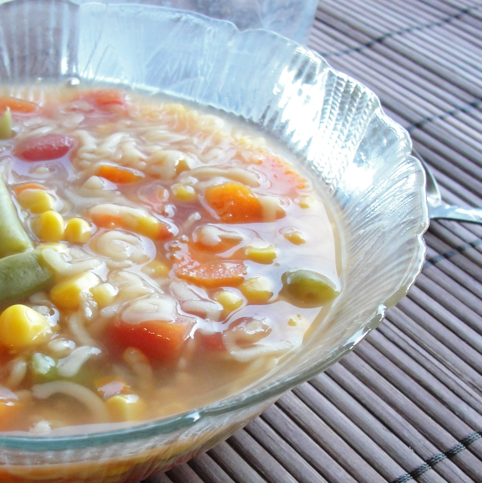 Pressure Cook Recipes: Healthy Family Cookin': Alphabet Soup {Electric Pressure