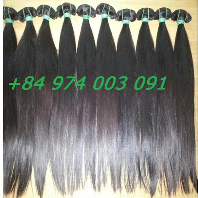 Mua tóc dệt kẹp, tóc dệt phím kep 50cm