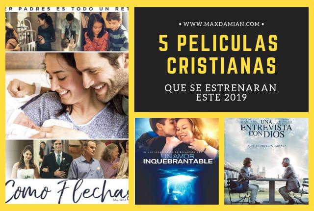 5 Películas cristianas que se estrenarán este 2019