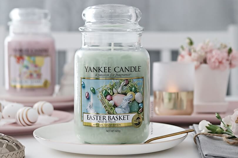 yankee candle easter basket blog recenzja