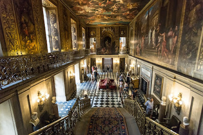 Chatsworth House Interior by Laurence Norah