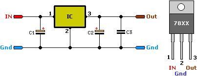 5v regulated power supply circuit project. Black Bedroom Furniture Sets. Home Design Ideas