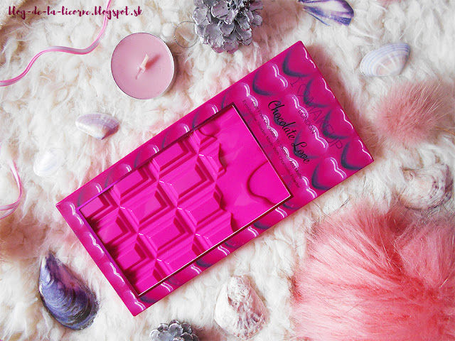 Makeup Revolution London I Heart Makeup Chocolate Love Palette recenzia