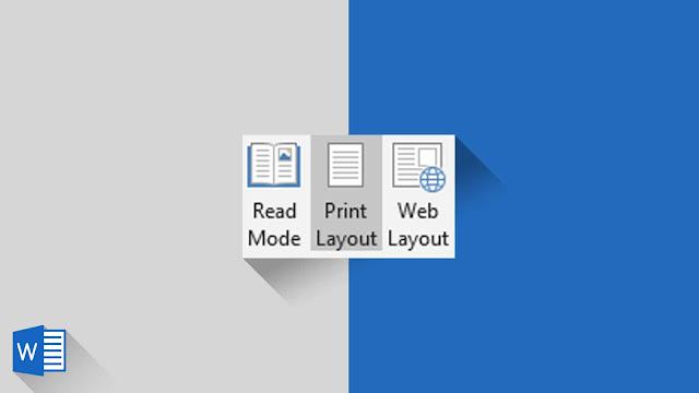 Panduan Lengkap Switch View di Word 2019