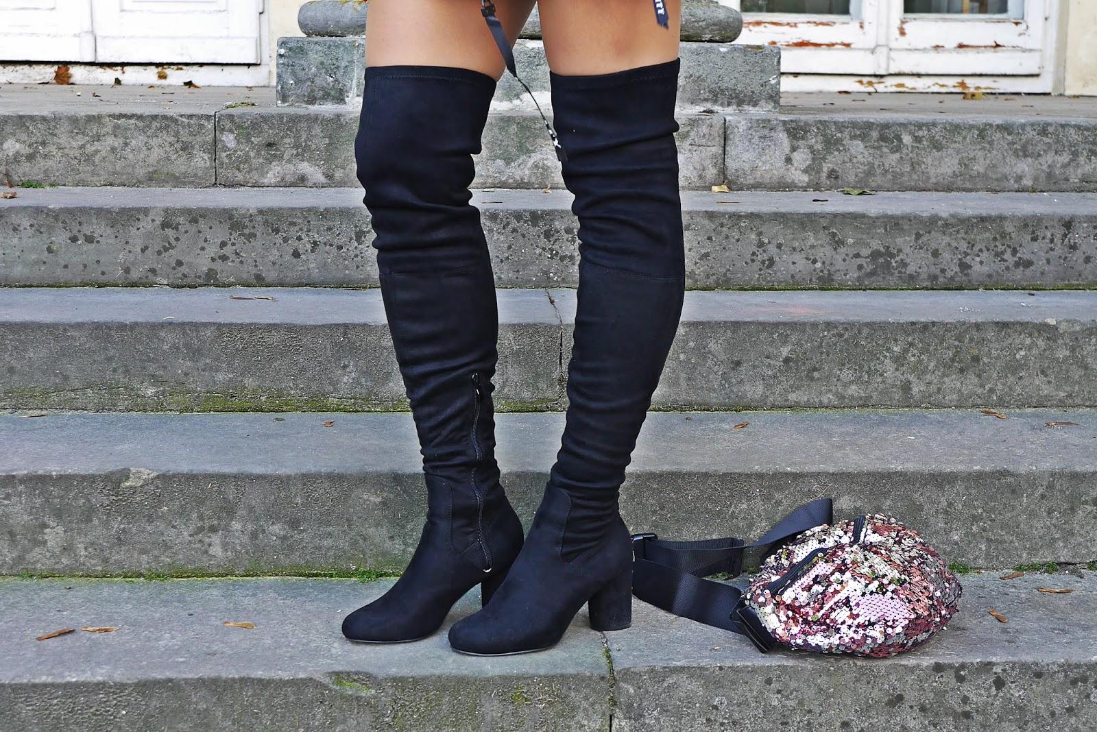 Kozaki za kolano renee karyn blog modowy