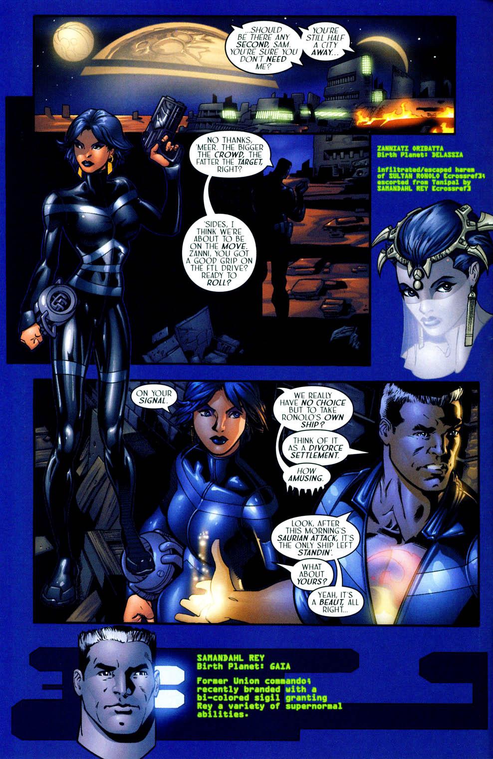 Read online Sigil (2000) comic -  Issue #12 - 6