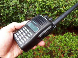 HT Motorola GP338 Plus VHF Seken Mulus Fullset IP54 Certified