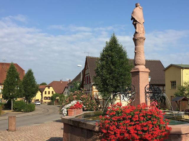 Stockbrunnen in Mahlberg
